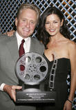 Catherine Zeta-Jones & Michael Douglas attend the opening night of the Savannah Film Festival