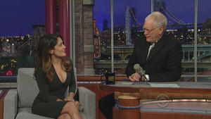 Salma Hayek - Late Show with David Letterman (2011), 720p