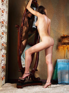Alluring nude reflection high indiana right!