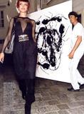 Natalia Vodianova Vogue (US) Sept/2006, ph. Mario Testino Foto 311 (Наталья Водянова Vogue (США) Sept/2006, тел.  Фото 311)