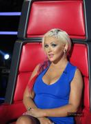 "Christina Aguilera -The Voice Season 3 ""Get The Look"" Portraits and Outtakes (x12)"