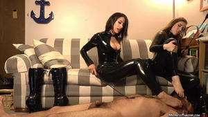 Mistress Tangent: Twin Torture Toes