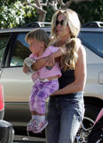 Denise Richards ...out&about with Sam and Lola